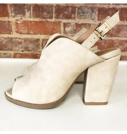 Shoes 54 Fresh Pick Mule Sling Back Beige Sandal