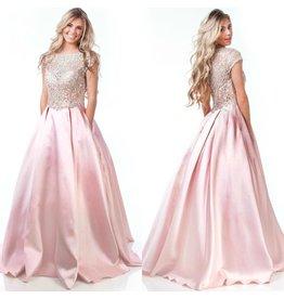 Formalwear Enchanted Moment Formal Blush Pink Dress