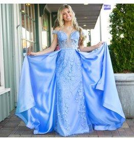 Formalwear Dreams Come True Periwinkle Dress