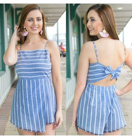 Rompers 48 Fun In The Sun Stripe Romper