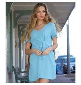 Dresses 22 Skies are Blue Front Knot Dress