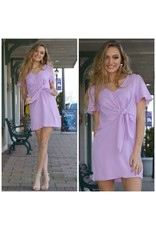 Dresses 22 Lilac Love Front Knot Dress