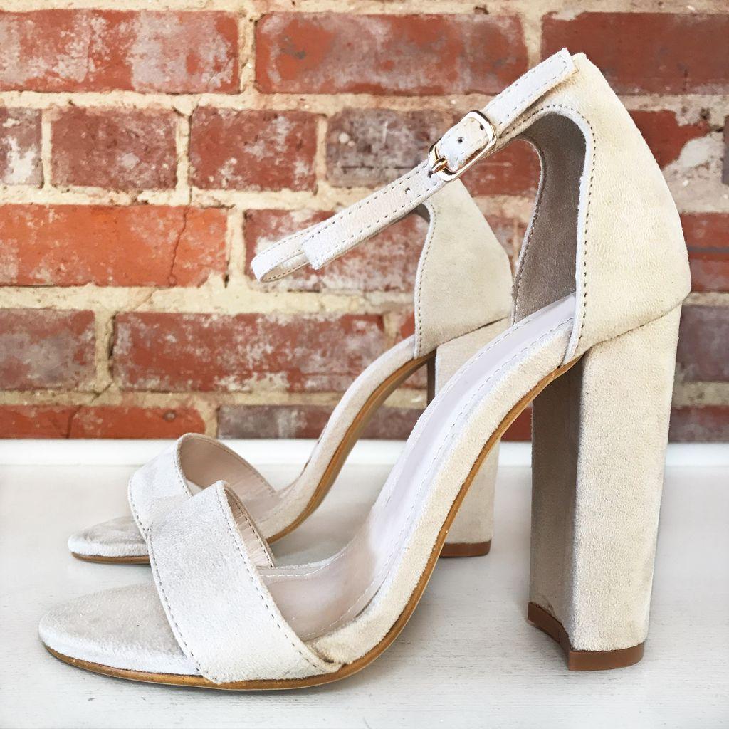 Shoes 54 Spring Dream Beige Heel