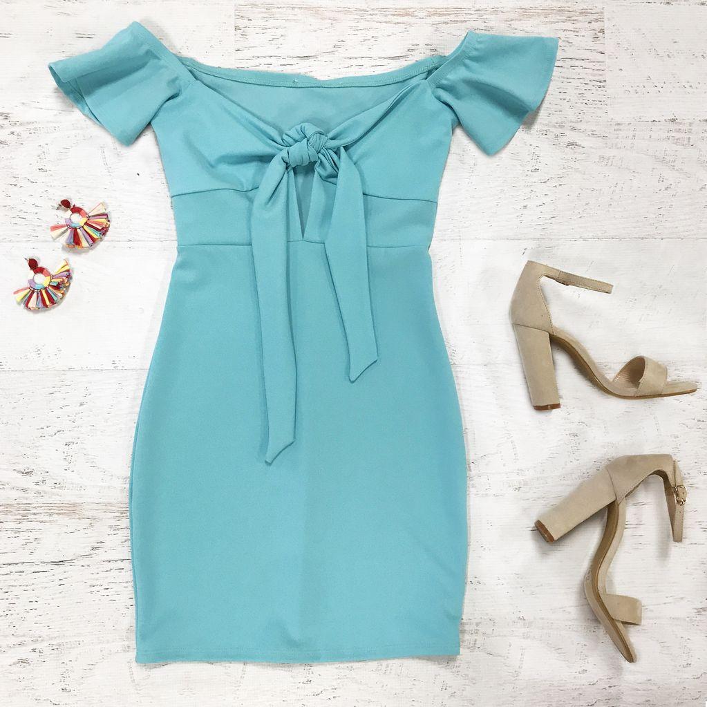 Dresses 22 Aqua Dreams Dress