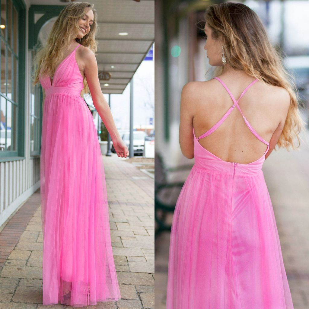 Dresses 22 Tulle Occasion Pink Dress