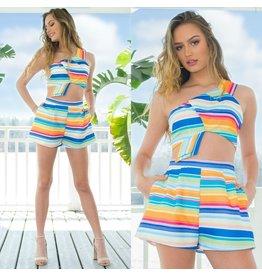 Shorts 58 Colorful Stripe Shorts