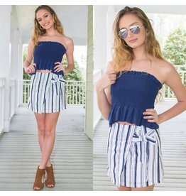 Skirts 62 Fun in the Sun Stripe Wrap Skirt