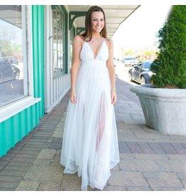 Dresses 22 Swept Away White Tulle Dress