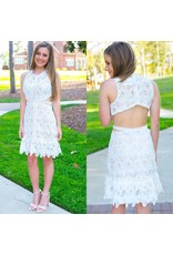 Dresses 22 Summer Nights White Lace Dress