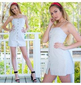 Dresses 22 Button Up Babe Dress