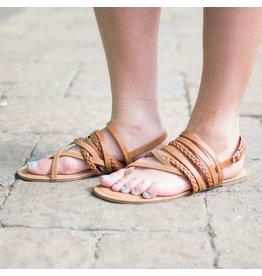 Shoes 54 Summer Adventure Tan Sandal