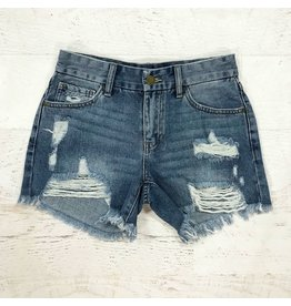 Shorts 58 Lola Distressed Denim Shorts