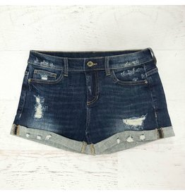 Shorts 58 Summer Vacay Medium Dark Denim Shorts