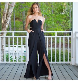 Jumpsuit Glam Occasion Black Jumpsuit