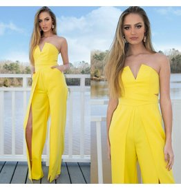 Jumpsuit Hello Sunshine Yellow Jumpsuit
