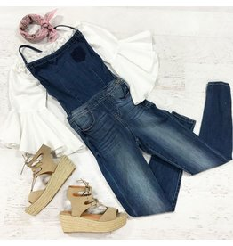 Pants 46 Turn Around Denim Overalls