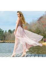 Dresses 22 Swept Away Blush Tulle Maxi
