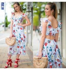 Dresses 22 Garden Party Open Back Dress
