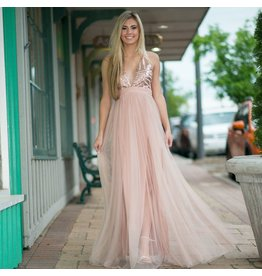 Dresses 22 Rose Gold Tulle Dress