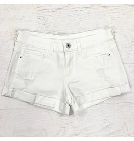 Shorts 58 Roll Up The Good Times Cuff White Shorts
