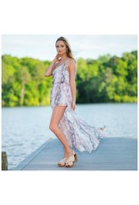 Rompers 48 Snake Print Summer Maxi Romper