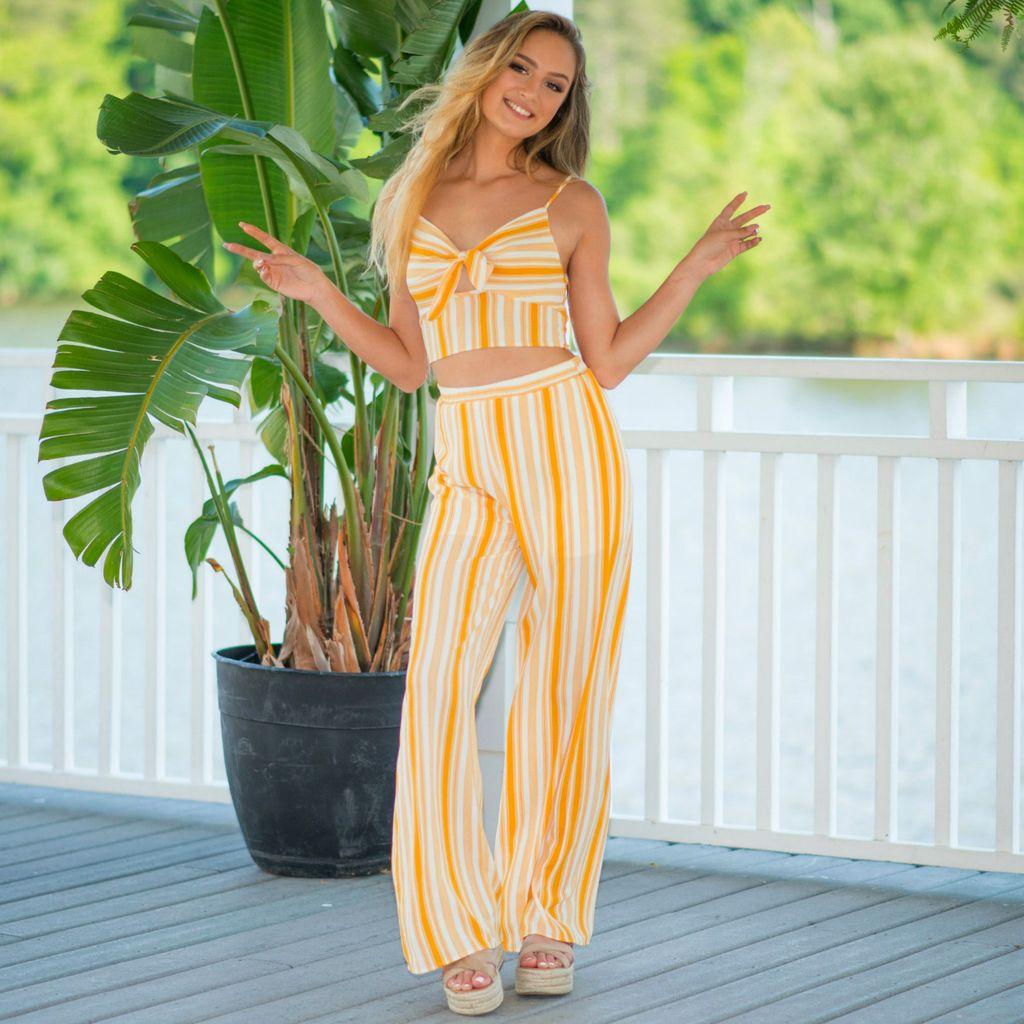 Pants 46 Sun Glow Yellow Pants
