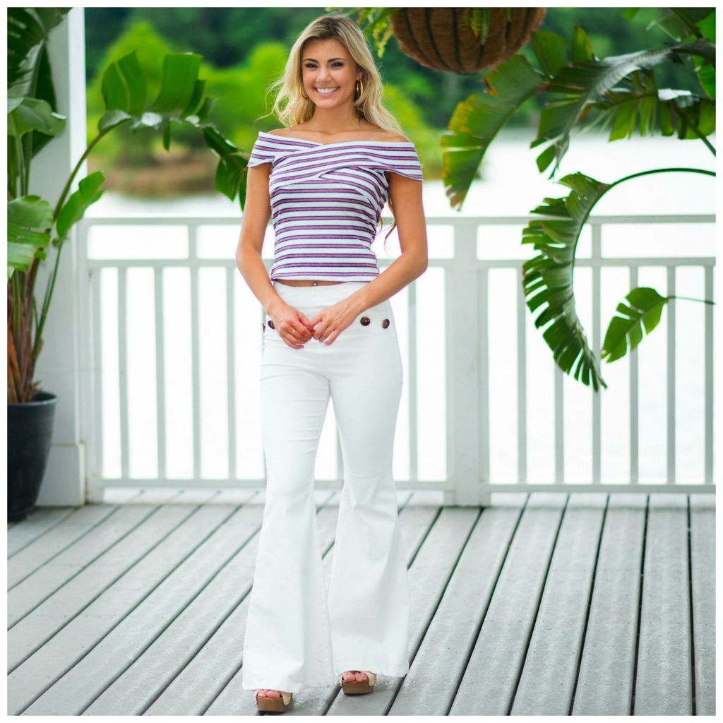 Tops 66 American Dream Stripe Top