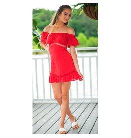 Dresses 22 Emma Off Shoulder Ruffle Dress