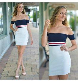 Dresses 22 Stripe Celebration Dress