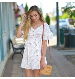 Dresses 22 Travel Plans Stripe Dress