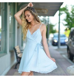 Dresses 22 Happy Everything Chambray Dress