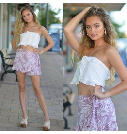 Shorts 58 Tropical Punch Lilac Wrap Skort