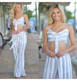Pants 46 Seeking Sun Stripe Pants
