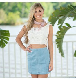 Skirts 62 Denim Daze Lt Denim Skirt
