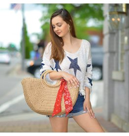 Tops 66 Star Party Knit Top