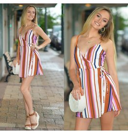Dresses 22 Summer Vibes Stripe Dress
