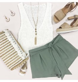 Tops 66 Suns Out Sleeveless Top