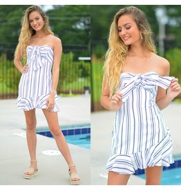 Dresses 22 Sail Away Summer Tie Front Dress