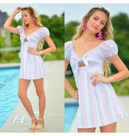 Dresses 22 Summer This Way Pink Stripe Dress