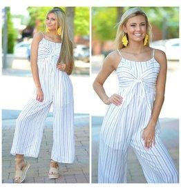 Jumpsuit Summer Story Stripe Jumpsuit