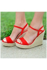 Shoes 54 Summer Solstice Red Espadrille