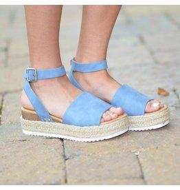 Shoes 54 Hot Topic Summer Blue Espadrilles