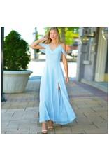 Dresses 22 Making Memories Sky Blue Chiffon Formal Dress