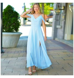 Dresses 22 Making Memories Sky Blue Chiffon Formal Dress
