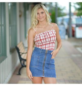 Skirts 62 Zip Into Summer Denim Skirt