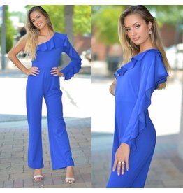 Jumpsuit Make An Appearance Royal Blue Jumpsuit