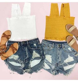 Shorts 58 Summer Daze High Waisted Denim Shorts