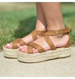 Shoes 54 On My Way Tan Espadrilles