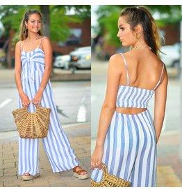 Jumpsuit Summer Love Stripe Jumpsuit