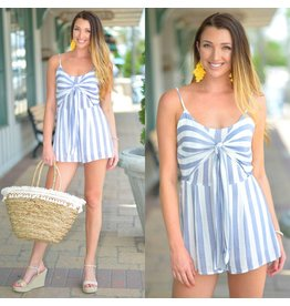 Rompers 48 Nice In Navy And Stripes Romper